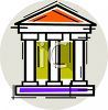 The Treasury Building clipart