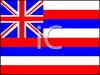 Flag of Hawaii clipart