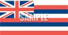 State Flag of Hawaii clipart
