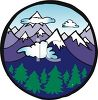 Snow Covered Alps clipart