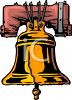 The Liberty Bell-Philadelphia Pennsylvania clipart