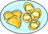 Pasta on a Plate clipart