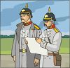 German Soldiers clipart