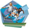 Men Playing Soccer clipart