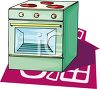 Green Stove clipart