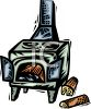 Wood Stove clipart