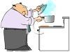Man Boiling Water clipart