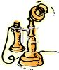 Old Fashioned Phone clipart