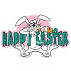 Happy Easter Rabbit clipart