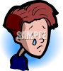 Boy Crying clipart