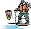 Commerical Fisherman clipart