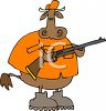 Cow Hunting clipart