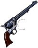 Long Barreled Revolver clipart