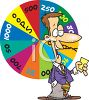 Cartoon of a Game Show Host clipart