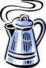 Retro Coffee Pot clipart