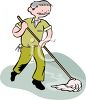 Janitor Clip Art clipart