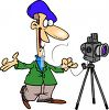 Portrait Photographer clipart