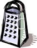 Metal Cheese Grater clipart