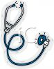 Medical Supplies-Stethoscope clipart