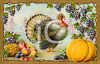 Classic Turkey and Autumn Foods clipart