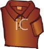 Collared Pull Over with Long Sleeves clipart