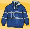 Man's Fleece Pullover clipart