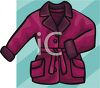 Woman's Winter Coat  clipart