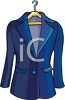 Ladies Fitted Blazer clipart