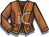 Short Woman's Jacket clipart