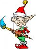 Classic Toy Elf clipart