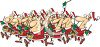 Santa Claus Marching Band clipart