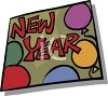 New Year Decoration clipart