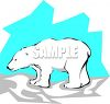 Arctic Polar Bear clipart