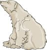 Cute Polar Bear clipart