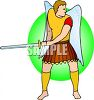 Warrior Archangel clipart