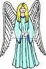 Young Angel clipart