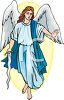 Archangel With a Sword clipart
