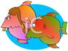 Bucked Tooth Fish clipart