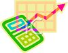 Bright Calculator clipart