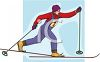 Cross Country Skier clipart