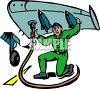 Airplane Mechanic clipart