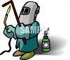 Pipe Welder clipart