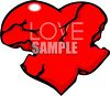 Really Broken Heart clipart