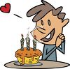 Birthday Boy In Love clipart