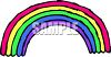 Cartoon Rainbow clipart