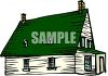 Old Fashioned Farmhouse clipart