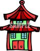 Chinese Style Building clipart
