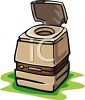 Portable Chemical Toilet clipart