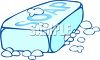 Bar of Soap with Bubbles clipart