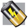 D Battery clipart